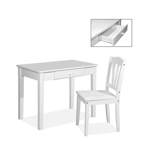 Rose Study Desk 3ft Shaker Chair Color Life